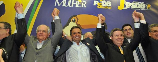 Em clima de campanha Aécio disse não ser contra as prévias no PSDB